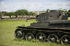 Tank From WW2 Era Royalty Free Stock Photos