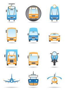 Free Different Transportation Mashines Stock Image - 20994041