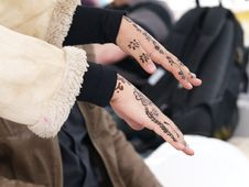 Free Hands With Henna Stock Photography - 20994872