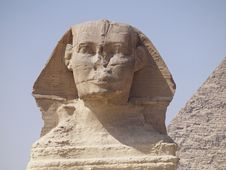 Free Piremide Sphinx And Giza Stock Images - 20995024