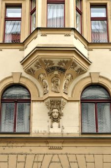 Free Building Details In Prague Stock Image - 20995061