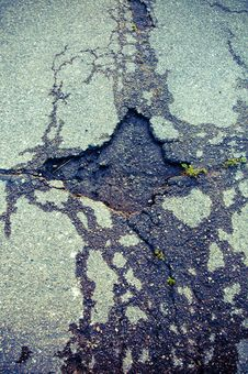 Free A Hole In The Road Stock Photography - 20995372