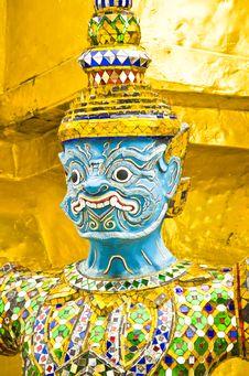 Free Giant Thai Stock Photo - 20996450