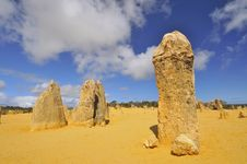Free The Pinnacles Desert Royalty Free Stock Image - 20996906