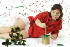 Free Painting It Christmas Stock Photo - 20997000