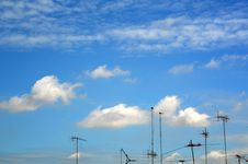 Free TV Antenna Royalty Free Stock Photography - 20997437