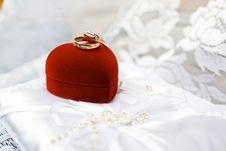Free Gold Wedding Rings Royalty Free Stock Photos - 20997678
