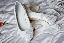 Free Shoes For The Bride Stock Images - 20997734