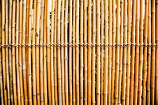 Free Old Bamboo Fence Royalty Free Stock Photos - 20997748