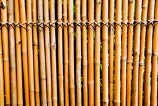 Free Old Bamboo Texture Stock Photography - 20997762