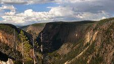 Yellowstone Valley Royalty Free Stock Photos