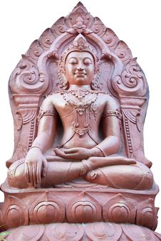 Buddha Image At Golden Triangle Stock Photos