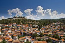 Free Panorama Of Sibenik And St.John Fortress Stock Images - 20998394