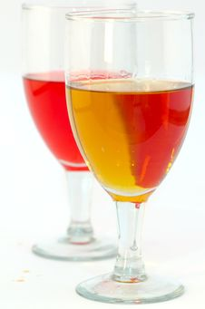 Free Isolated Photo Of Two Glasses Of Red Royalty Free Stock Photo - 20998725