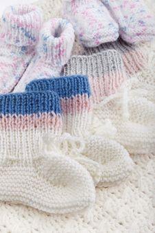 Free Woolen Baby Socks Stock Photos - 20998843