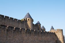 Free Walls Of Carcassonne Stock Photo - 20998890
