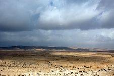 Free Clouds Over The Negev Stock Image - 20998891