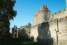 Free Walls Of Carcassonne Stock Images - 20998944