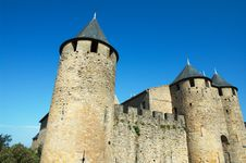 Free Walls Of Carcassonne Stock Image - 20999111