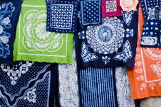 Free Wax Printing Square Cloth Stock Photo - 20999230