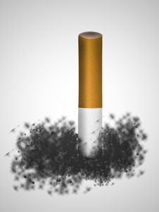Free Cigarette Butt Royalty Free Stock Image - 20999286
