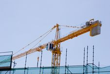 Free Construction Crane Royalty Free Stock Photography - 210527