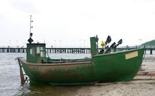 Free Old Fishing Boat Stock Photos - 211283