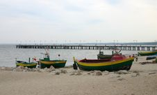 Free Old Fishing Boats 2 Royalty Free Stock Photography - 211287
