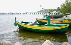 Free Old Fishing Boats Royalty Free Stock Photo - 211295
