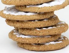 Free Stacked Cookies Stock Photography - 211842