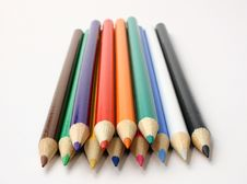 Free Colored Pencils Stock Photo - 214020