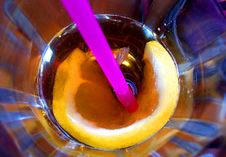 Free Flower In My Drink Stock Images - 215404