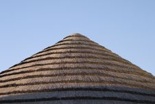 Free Straw Roof Royalty Free Stock Photo - 216165