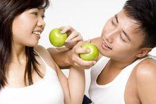 Free Healthy Couple 7 Stock Image - 216191