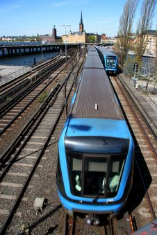 Free Train Coming Royalty Free Stock Photography - 216847