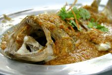 Free Ginger Chilli Steamed Fish Stock Photo - 217000