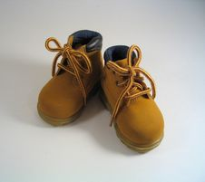 Free Toddler Boots Royalty Free Stock Photography - 217437