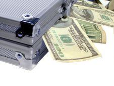 Case Of Money Royalty Free Stock Image