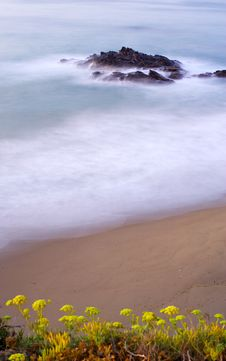 Free Milky Early Morning Seas In Spain Stock Photography - 219942