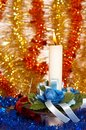 Free Christmas Candle Royalty Free Stock Images - 2105999