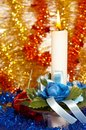 Free Christmas Candle Stock Image - 2106001