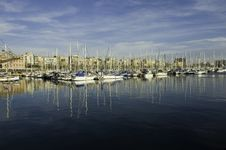 Free Marina Seaport Royalty Free Stock Photos - 2100008