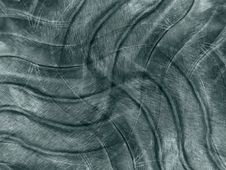 Free Dark Metallic Waves Pattern Royalty Free Stock Photo - 2100515
