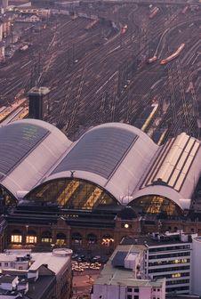 Free Hauptbahnhof Stock Photography - 2101412