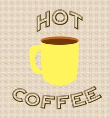 Free Hot Coffee Poster Stock Photo - 2101650