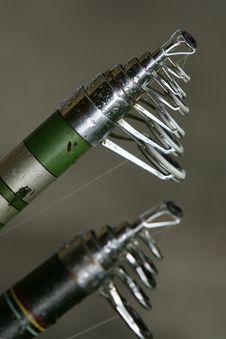 Free Fishing Rods Stock Image - 2101931