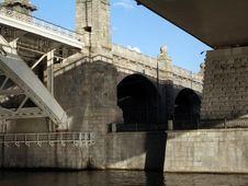 Bridge Footing Stock Images