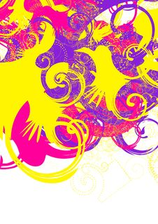 Free Colorful Swirls Stock Images - 2102314