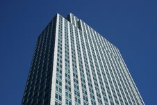 Free Top Of The Gray Office Building Royalty Free Stock Photos - 2103448