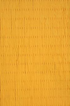 Yellow Painted Wooden Texture